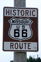 Route 66 Ride on a Motorcycle