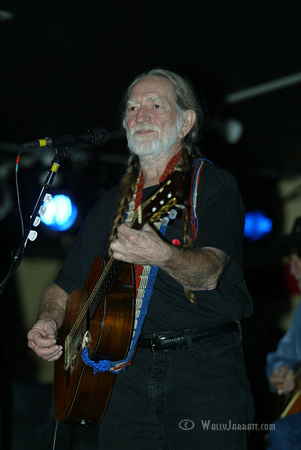 Willie Nelson at the Electric Cowboy
