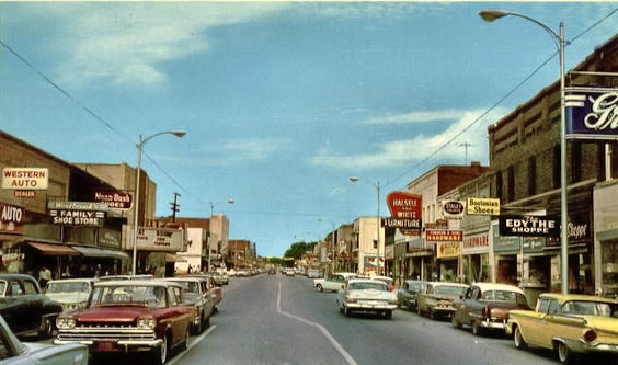 Downtown Blytheville 1965